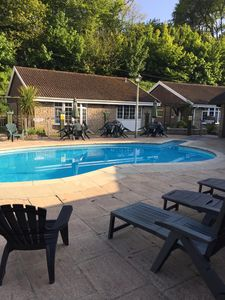 Cottage in small private complex, heated outdoor pool and communal social area.