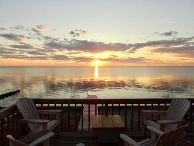 'Kona Breeze', OBX Sound Front, Great Sunsets and Water Access