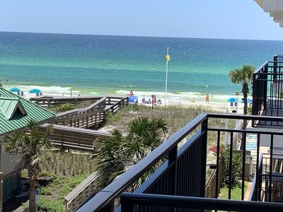 Photo for Book August Now at $297 a night!!! Beautiful Condo Sleeps 10 Right On the Gulf