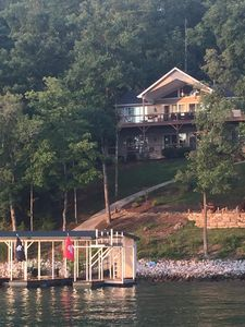 Photo for Great views,  top rated home on Big Creek, Norris lake