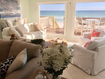 Photo for Direct On The Beach! Beautifully Remodeled.