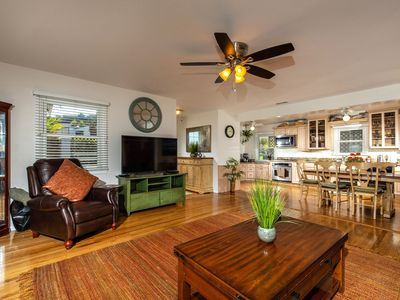 Photo for Solana Beach Oasis 3BD/2BA (Steps 2 Both Beaches) Winter rates now/ & monthly