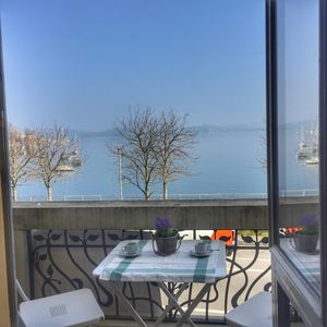 Photo for Apartment Solaya on the lakefront in Lesa