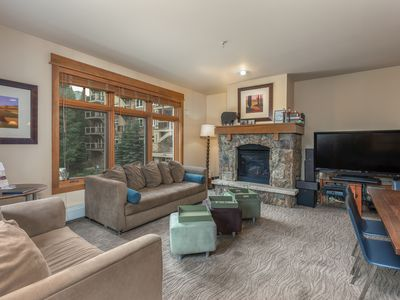 Photo for Ski-in/Ski-out, High-end Spacious Condo, Private Laundry, Free WIFI