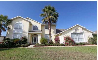 Photo for 7-bedroom villa with pool/spa/game room, 3 miles from Disney