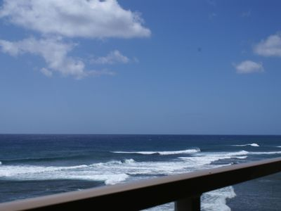 Photo for OCEANFRONT 1-bd 2-ba Penthouse in prime Poipu location and AC - Beat the Heat