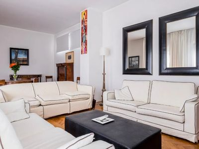 Photo for NEW LISTING! Chic penthouse w/ full kitchen & furnished terrace w/ rooftop views