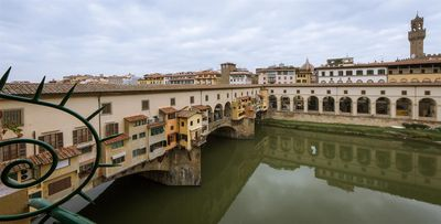 Photo for Ponte Vecchio Luxury Terrace, 70m2 stylish apartment on the 3rd floor with elevator