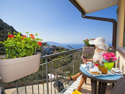 Photo for Casa Elvy with Terraces, Sea View and Parking
