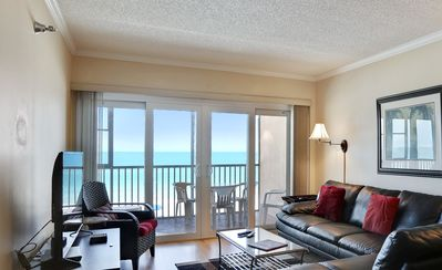 Photo for Villa Madeira 307 - Paradise! Many updates in this awesome beach front condo!