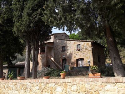 Photo for Villa near the historic center of Montepulciano with a large garden for families