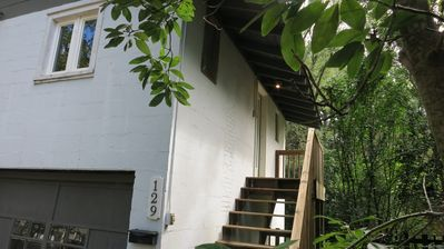 Photo for Turnpike Treehouse - stay in an historic neighborhood, walk to Downtown Brevard!