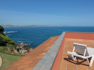 Photo for 3 bedroom apartment in Aiguafreda, Begur. Terrace, panoramic views, pool. (Ref:H23)
