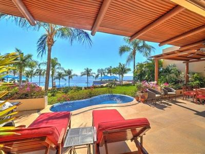 Photo for 3 Bedroom Ocean Front Condo with private pool