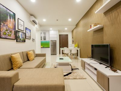 Photo for CENTER 2br Apartment with Infinity Pool - near Nguyen Hue Str