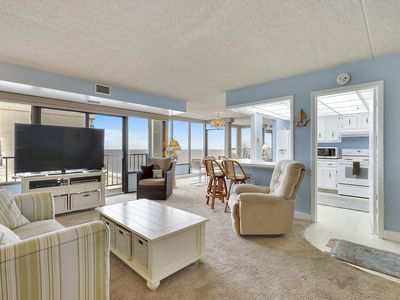 Photo for FREE DAILY ACTIVITIES!!! OCEAN & BAY VIEWS!! Capri #1808 11000 Coastal Highway 110th Street North Ocean City 2 Bedroom, 2 bath condo with beautiful ocean and bay views.  18th Floor
