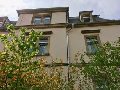 Photo for Holiday in Dresden - modern apartment with garden and terrace