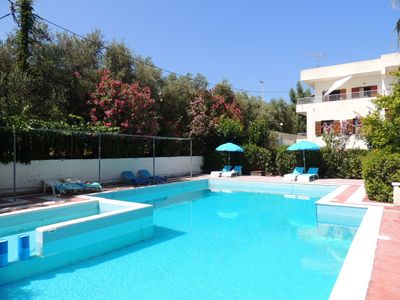 Photo for Budget 5 bedroom Penthouse and Gatehouse w/ 100m2 private pool, close to beach.