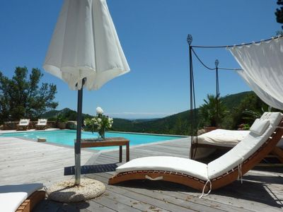 Photo for Recent luxury villa in charming village near Porto-Vecchio