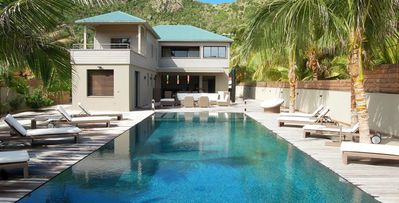 Villa K, 4 bedrooms, private pool, near white sand beach of Anse des Cayes