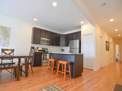 Photo for Sprawling 4 Bedroom Duplex in One of Chicago's Most Vibrant Neighborhoods!