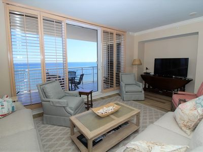 Photo for Indigo West 1601- Beach Front Unit with Luxurious Interior and Amenities!