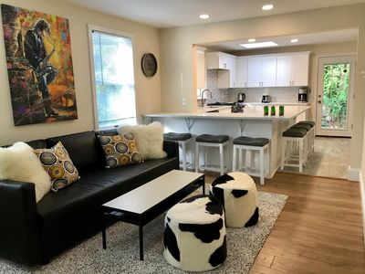 Photo for Downtown Princeton Modern Two BR Home w/parking