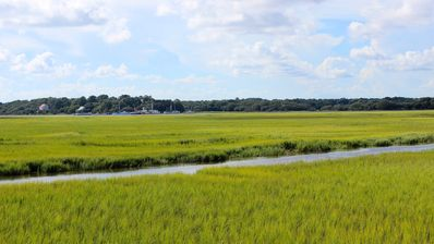 Photo for Roomy & Spacious Villa with Great Marsh Views! Community Pool! Amenity Cards!