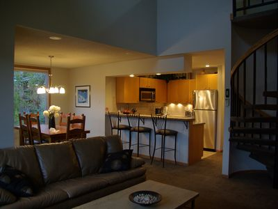 Photo for Snowblaze - Remodeled 3 Bdrm Condo w/ Great Views - In Town - 5 Mins to Sking