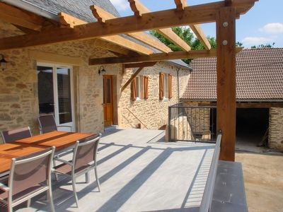 Photo for Spacious 4 star quiet house with terrace, wifi country of the hundred valleys