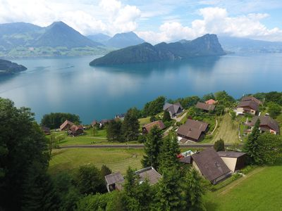 Photo for Two villas at Lake of Lucerne