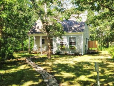 Photo for Ferry Tix Chilmark, South of South Rd, 3BR/1Bth+Loft, Central Air Pet Frdly WiFi