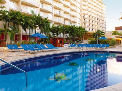 Photo for The Vacation Advantage: Wyndham Waikiki Prime Location! Close to the beach