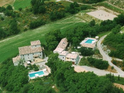 Photo for Lavender House - Luxury villa on a medieval Umbrian estate -