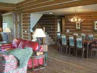 Photo for Luxury Log Cabin- Perfect For Skiing & Visiting The Jackson Hole Area