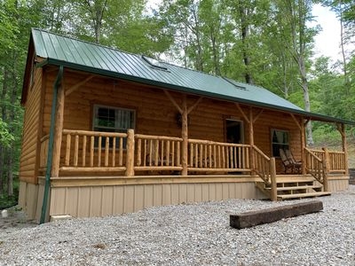 Photo for Beautiful secluded cabin near Dale Hollow Lake! (Little Bear)