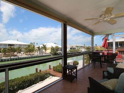 Photo for Family Fun Waterfront Home Close to Sombrero Beach
