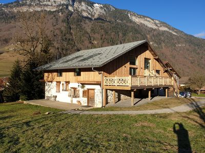 Photo for Chalet Jamoo, authentic renovated farm in the heart of Aravis