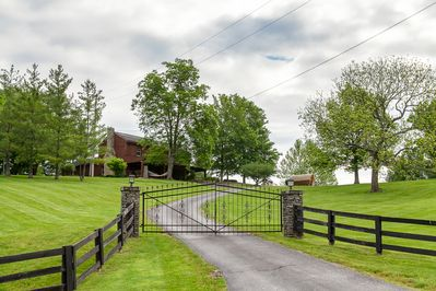 Drive up to your exclusive gated cabin in a high quality neighborhood.