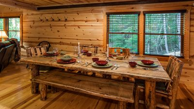 Ample seating both inside and out.  Host all your family and friends functions.