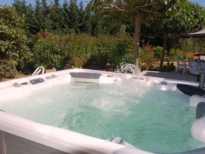 Photo for Garden house Jacuzzi Ajaccio Alata Afa