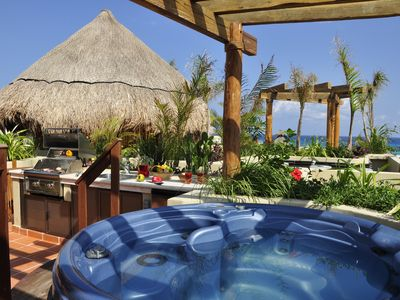 Photo for Winner of Top 25 Small Condo/Hotel in All Of Mexico-Penthouse 2 Bedr -Beach Club - Promos #406