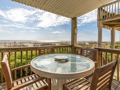 Photo for Spectacular Ocean Views, Step Right Onto The Sand From Your Deck, Pet Friendly
