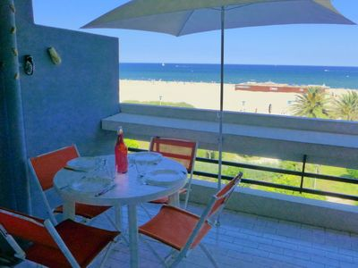 Photo for Apartment Les Terrasses du Levant in Canet-Plage - 3 persons, 1 bedrooms