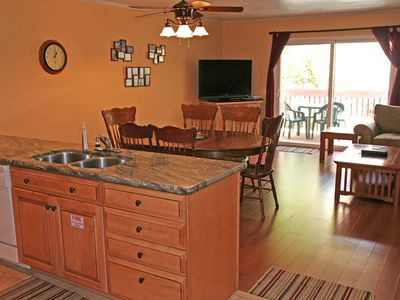 Photo for Nice 2 Bdrm Condo, Private Balcony, Golf Cart, Common Pool & Jacuzzi