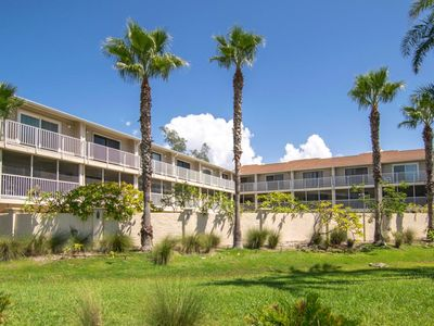 Photo for 2BR 2.5 BA With Heated Pool and Gulf View with Lanai, Close To Manatee Beach and