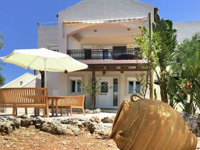 Photo for Imposing large villa on fantastic beautiful piece of land, near Vamos and Chania