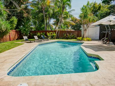 HEATED POOL!  Modern & Chic in Heart of Fort Lauderdale!