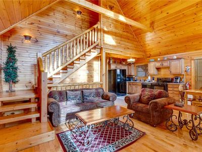 Photo for Angels Rest | Serene Wooded Views | Wi-Fi | Hot Tub | Pool Table | Air Hockey
