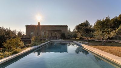 Photo for New - Stones farmhouse, air conditioned - Stunning views of Gordes and Luberon